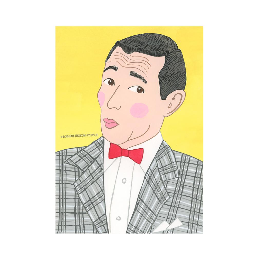 Pee Wee Herman Print